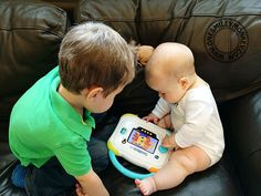 I was recently introduced to the new Innotab 3 Baby learning tablet from VTech, a kids tablet designed for children as young as one year old and made to grow Kids Tablet, Tablet Reviews, Sibling Rivalry, Pre Paid, Young Baby, Parenting Articles, Baby Learning, 3rd Baby