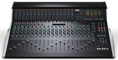 The XL-Desk is the first Solid State Logic mixer that can host hardware processors in the ubiquitous format. Studio Foam, Studio Equipment, Mixer, Instruments, Iphone, Board, Music, Tools, Blenders