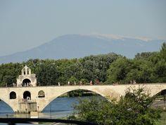 Le Pont d'Avignon  Le Mont Ventoux Vaucluse (84) France
