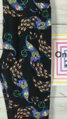 Im lucky to have these!  Peacock lularoe leggings