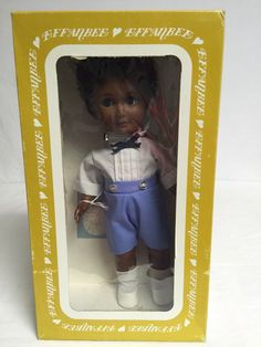 """Effanbee 1415 Sunday's Best Collection Sam 1985 11"""" Tall"""