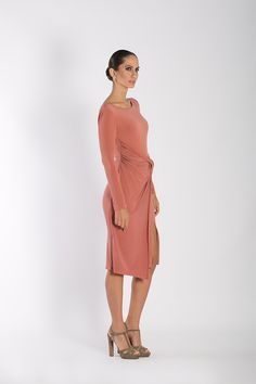 Vestido corto Damasco vinagre 2