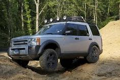 LAND ROVER LR3 OFF ROADING