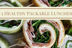 Friday Five:  Packable Lunches