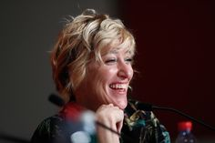 """Valeria Bruni-Tedeschi Photos - Actress Valeria Bruni Tedeschi attends the """"Slack Bay (Ma Loute)"""" press conference during the 69th annual Cannes Film Festival at the Palais des Festivals on May 13, 2016 in Cannes, France. - 'Slack Bay (Ma Loute)' Press Conference - The 69th Annual Cannes Film Festival"""
