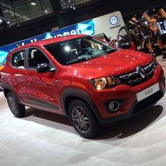 """Renault inicia pré-venda do Kwid com """"sinal de milão em 3x no cartão"""". Preços entre R$ 29.990 e R$ 39.990 para vender bem e motor 1.0 de 70 para fazer 15 km/l na cidade. Gostou? #salondebuenosaires #renault #kwid #renaultkwid #carros #cars #coches #instacar"""