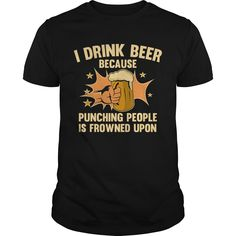 Get yours hot I Drink Beer 2 Coolest T Shirt Shirts & Hoodies.  #gift, #idea, #photo, #image, #hoodie, #shirt, #christmas