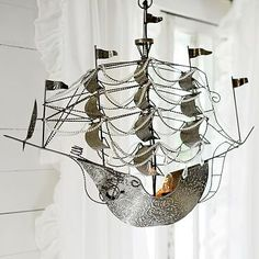 Junk Gypsys Dreamer Ship Chandelier   Wow <3 How about you go on sale a little more...that'd be great.