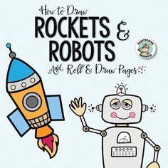 If you had a robot, what would you have it do for you? Let your kids' imaginations go wild with ideas while they try out different robot drawings. They will have no problem thinking of things to write about their robot when they are finished with their