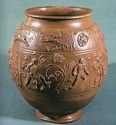 Art Romain - (page - Liviaaugustae Ceramic Pottery, Ceramic Art, Tourbillons, Saint Germain En Laye, Gladiator Fights, Art Romain, Sassanid, Grands Vases, Ancient Romans