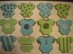 boy colors for a baby shower - Google Search