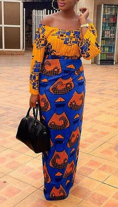Darasimi iro and buba  top and wrapper  by CoCoCremeCouturier