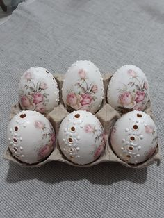 Easter Egg Crafts, Easter Eggs, Carved Eggs, Egg Art, Egg Decorating, Dyi, Decoupage, Craft Projects, Carving