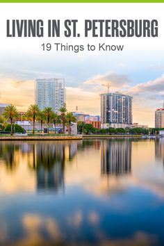 Considering moving to St. Petersburg? The Sunshine City offers affordable living, incredible weather, some of America's best beaches, and a strong job market. Here are 19 things you need to know about living in St. Petersburg! Florida Vacation Spots, Florida City, Moving To Florida, Tampa Florida, Vacation Ideas, Best Places To Live, Places To Visit, Tampa St Petersburg, Florida Quotes