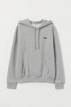 Hooded Sweatshirt with Motif - Light gray melange/NASA - Hoodie Sweatshirts, Pullover Hoodie, Grey Hoodie, Sweater Hoodie, Trendy Hoodies, Cool Hoodies, Nasa Hoodie, Nasa Clothes, Teenage Outfits