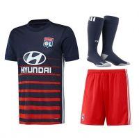 Olympique Lyon 2017-18 Season Away Les Gones Whole Kit