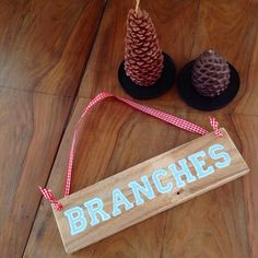 Branches. Sign. Diy.