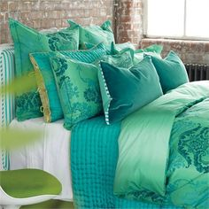 @rosenberryrooms is offering $20 OFF your purchase! Share the news and save! (*Minimum purchase required.) Kashgar Jade Duvet Cover #rosenberryrooms