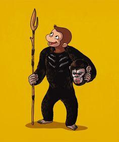 Alex Solis desenmascara personajes de la cultura popular