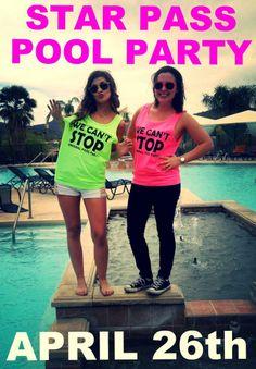 Star Pass Pool Party http://www.livestarpass.com/Event/eventRegistration.aspx | University of Arizona