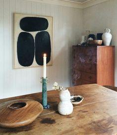 Living Earthy MCM Interior Minimal Eclectic Modern Vintage