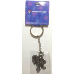 Pokemon Center 2013 Mewtwo Metal Keychain