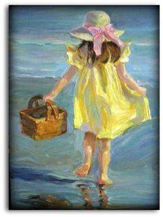 Bilderesultat for yellow dress painting Dress Painting, Figure Painting, Painting & Drawing, Dress Drawing, Painting Abstract, Abstract Canvas, Paintings I Love, Beautiful Paintings, Pastel Paintings