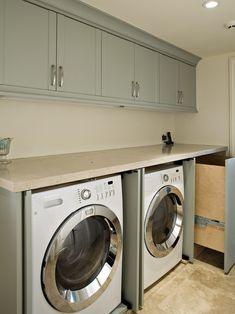 Home Decor Modern Laundry-room. ランドリールームのインテリアコーディネイト実例