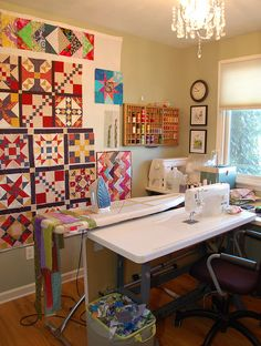 State of my Sewing Room | by RhubarbPatch
