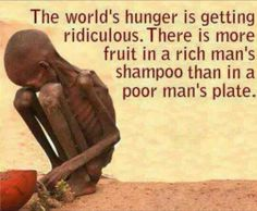 World's hunger