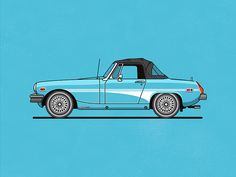 MG Midget by Christopher Hebert