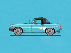 MG Midget by Christopher Hebert