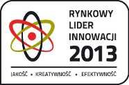 The award of Polish Market Innovation Leader 2013 (PL: Rynkowy Lider Innowacji 2013) comes to RI after successful implementation of its domestic and industrial products on EU and USA markets. It is a significant recognition to Robotics Inventions for years of introducing robotics solutions to market.