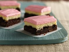 Neapolitan Cream Cheese Bars