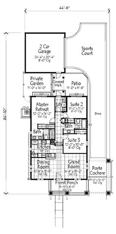 Home plans homepw06893 1 094 square feet 3 bedroom 2 for Small craftsman house plans with garage