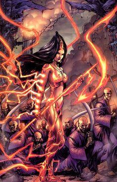 Devi screenshots, images and pictures - Comic Vine Asian Superheroes, Comic Books Art, Comic Art, Book Art, Top Cow, Oriental Fashion, Oriental Style, Image Comics, Comics Girls