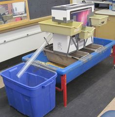 sand and water tables hodgepodge and doohickies education pinterest water play