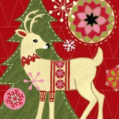 Mod.Holiday.-.03.of.08.-.Deer.-.Jennifer.Brinley