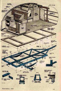 1947 Teardrop Blueprint
