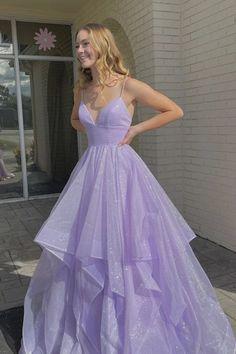 Stunning Prom Dresses, Pretty Prom Dresses, A Line Prom Dresses, Formal Evening Dresses, Dance Dresses, Ball Dresses, Beautiful Dresses, Purple Grad Dresses, Princess Prom Dresses
