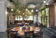 Restaurant Little V Rotterdam_MASA architects (Hiroki MAtsuura + René SAngers)_© Filip Dujardin-04