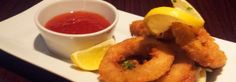 A lovely Starter of Calamari from The Lounge at Whitstable Kent. Whitstable Kent, The Blues Brothers, Calamari, Restaurant Bar, Great Recipes, Restaurants, Lounge, Food, Airport Lounge