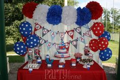 "Photo 1 of 16: Nautical 1st Birthday / Birthday ""Nautical Birthday Bash"" 