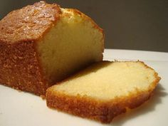 This is the real deal. Unlike other pound cake recipes, this one does not have sour cream or cream cheese. It gets all its flavor and mois. Un Cake, Bread Cake, Mexican Food Recipes, Sweet Recipes, Pan Dulce, Pound Cake Recipes, Bread Recipes, Biscuits, Galette