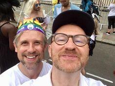 "Ian Hallard on Instagram: ""Pride 2019. 🌈"" Sherlock Actor, Mycroft Holmes, British Guys, Mark Gatiss, My Spirit Animal, Johnlock, Hawkeye, My Crush, Aesthetic Girl"
