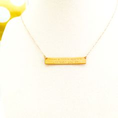 """Leave a little sparkle everywhere you go"" Jessica necklace by Bip and Bop"