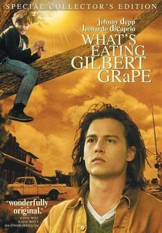 What's Eating Gilbert Grape Film Movie, See Movie, Film Music Books, Music Tv, Gilbert Grape, Johnny Depp Leonardo Dicaprio, Benny And Joon, Films Cinema, Bon Film