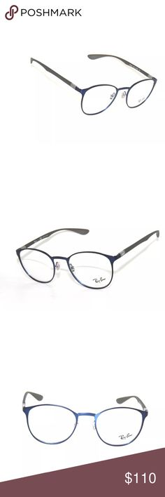 86f5a99fa6 Rayban Eyeglasses 6355 blue and grey Glasses Brand New Comes with rayban  case Authentic Ray-Ban Accessories Glasses