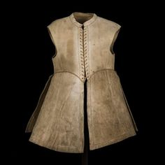 A jerkin worn by King Charles l of England in c.a.1625.A♥W