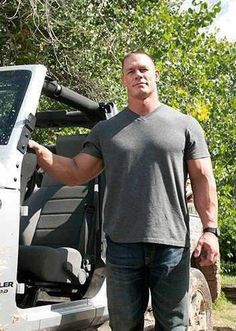 It literally hurts how badly I want John Cena. God his voice and body and everything about him is so SEXY!!!